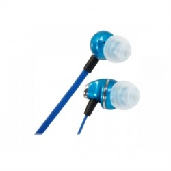 Rosewill - E-360-BLE - Headphone E-360-BLE Blue Headphone Noise Isolating Earbuds with Mic 3.5mm Bare