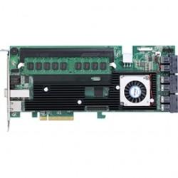 Areca - ARC-1883IX-24-8GB - Areca Controller Card ARC-1883IX-24-8GB 24+4 Ports 12Gb/s SAS/SAT RAID 8GB Cache Retail