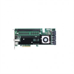 Areca - ARC1883IX-12-8GB - Areca Controller Card ARC1883IX-12-8GB Dual Core 16-Port 12Gb/s SAS/SATA RAID 8GB Retail
