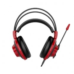 MSI - S37-2100920-SV1 - MSI DS501 Gaming Headset - Stereo - Mini-phone - Wired - 32 Ohm - 20 Hz - 20 kHz - Over-the-head - Binaural - Circumaural - 6.89 ft Cable