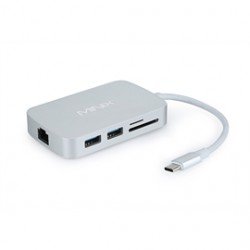 Giada - NEO-C-HIS - OPI Accessory NEO-C-HIS USB-C Multiport Adapter HDMI Silver Retail