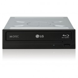 LG Electronics - UH12NS40 - LG COM BD/DVD/CD UH12NS40 12X SATA Without Software Black Bare