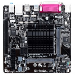 Gigabyte Technology - GA-J1900N-D2PH-B - Motherboard GA-J1900N-D2PH-B Celeron J1900 8GB DDR3 SATA USB MiniITX Bulk Pack