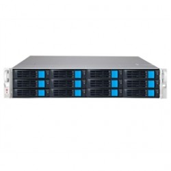 Sans Digital - EN212L12 - Storage NAS EN212L12 2U 12Bay 4 NIC 12G SAS / 6G SATA Hardware RAID6 NAS+iSCSI Rackmount Server Retail