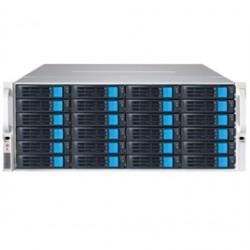 Sans Digital - EN436L12 - NAS EN436L12 4U 36Bay 4 NIC 12G SAS / 6G SATA Hardware RAID 6 NAS+iSCSI Rackmount Server Retail
