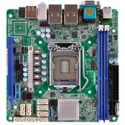 ASRock - C236 WSI - ASRock Rack C236 WSI LGA1151/ Intel C236/ DDR4/ SATA3USB3.0/ A&2GbE/ Mini-ITX Server Motherboard