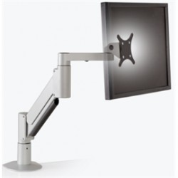 Innovative Office Products - 9105-800-FM-124 - Innovative Accessory 9105-800-FM-124 Heavy Duty Desktop Monitor Arm Silver Retail