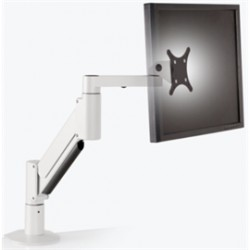 Innovative Office Products - 9105-800-FM-248 - Innovative Accessory 9105-800-FM-248 Heavy Duty Desktop Monitor Arm Flat White Retail