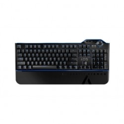 AziO - MGK-L80-03 - Azio Keyboard MGK-L80-03 MGK L80 Mechanical Gaming Keyboard Blue Switch Blue Backlight Retail