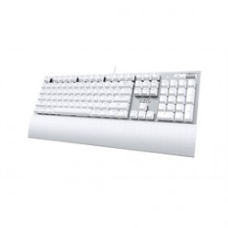 AziO - MK-MAC-U01 - Azio Keyboard MK-MAC-U01 Mac USB Backlit Mechanical Keyboard Wired White Retail