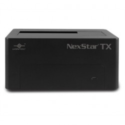 Vantec Thermal Technologies - NST-D328S3-BK - Vantec Accessory NST-D328S3-BK NexStar TX Single Bay 2.5 inch /3.5 inch USB3.0 Hard Drive Dock Retail