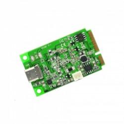 SYBA Multimedia - SI-MPE20214 - Accessory SI-MPE20214 Mini PCI-E 2.0 to USB 3.1 Type-C Gen 2 Card ASM1142 Chipset Retail