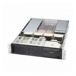 Supermicro - CSE-823I-R500RCB - Supermicro SC823i-R500RC Chassis - Rack-mountable - Black