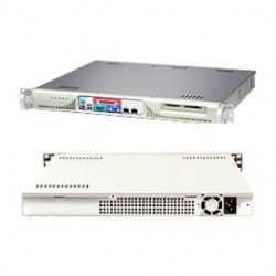 Supermicro - SYS-5014C-MFB - Supermicro SuperServer 5014C-MFB Barebone System - Intel E7221 - Socket T - Pentium 4, Celeron - 800MHz, 533MHz Bus Speed - 4GB Memory Support - Gigabit Ethernet - 1U Rack