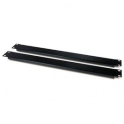 APC / Schneider Electric - AR8108BLK - APC 1U Blanking Panel Kit - Black - 2 Pack - 1.7 Height - 19 Width - 0.1 Depth
