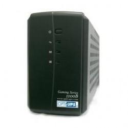 Opti Ups - GS1100B - Opti Ups GS1100B 1100VA Tower UPS - 1100VA/550W - 40 Minute Full Load - 3 x NEMA 5-15R - Battery Backup System, 3 x NEMA 5-15R - Surge-protected