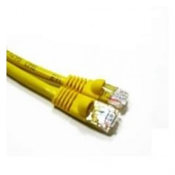 Link Depot - C5M-7-YLB - Network Cable 7 CAT5e 350MHz Molded w/Boot Yellow