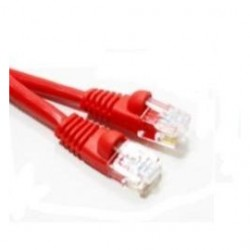 Link Depot - C5M-14-RDB - Cable 14FT CAT5e 350MHz Molded w/Boot Red