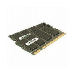 Crucial Technology - CT2KIT12864AC800 - Crucial 2GB (2 x 1 GB) DDR2 SDRAM Memory Module - 2 GB (2 x 1 GB) - DDR2 SDRAM - 800 MHz DDR2-800/PC2-6400 - 1.80 V - Non-ECC - Unbuffered - 200-pin - SoDIMM