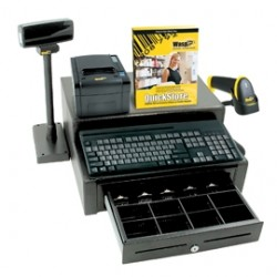 Wasp Barcode - 633808471378 - Wasp Quickstore Standard Pos Solution With Hardware And 1 Lane License