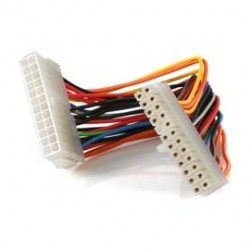 StarTech - ATX24POWEXT - StarTech.com Power extension cable - 24 pin ATX (M) - 24 pin ATX (F) - 20 cm - 8