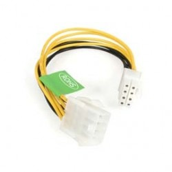 StarTech - EPS8EXT - StarTech.com 8in EPS 8 Pin Power Extension Cable - 8
