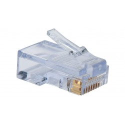 Liberty AV - 100 003B - Category 5e EZ-RJ45 plugs in a 100-pack Package