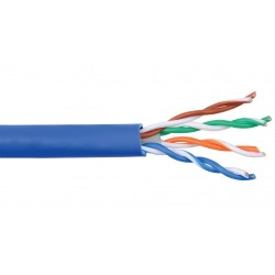 Liberty AV - 24-4P-L6-EN-GRY-500 - Grey Category 6 U/UTP EN series 23 AWG 4 pair unshielded cable Reel