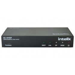 Intelix - AS-1H1DP - HDMI/DisplayPort Auto-Switcher with HDMI & HDBaseT Output