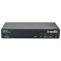 Intelix - AS-2H - Dual HDMI Auto-Switcher with HDMI & HDBaseT Output