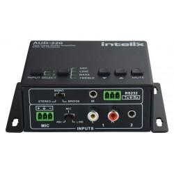 Intelix - Aud-220 - 2 Input Audio Amplifier, 2x20w (4 Ohm)