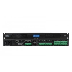 Atlas Sound - BB-168AECDT - 16 Input / 8 Output BlueBridge DSP Audio Processor with Dante and Auto Echo Cancellation