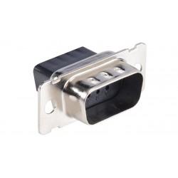 Liberty AV - CD-9809M - Crimp and Poke D-SUB plug housing Crimp Style Connector System