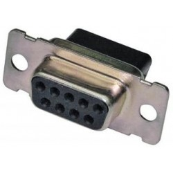 Liberty AV - CD-9809S - Crimp and Poke D-SUB jack housing Crimp Style Connector System