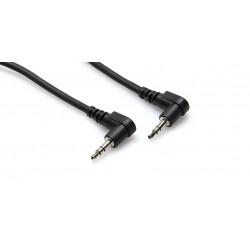 Hosa - CMM-103RR - 3' Audio Cbl Ra 3.5sm-ra 3.5sm 3'