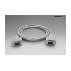 Liberty AV - E-DB9M-M-25 - Economy Molded D-SUB DB9 male to male RS-232 and Control cable