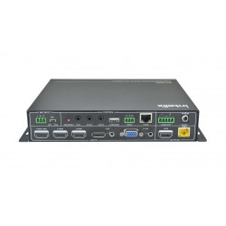 Intelix - INT-HD52 - 5x1+1 Auto Switching/Scaling Presentation Switch With HDBaseT w/PoE & HDMI output