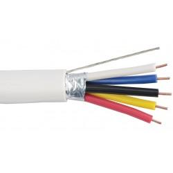 Liberty AV - LUTRON-ESC - White OEM systems lighting control for Lutron EcoSystems Sensor cable Reel