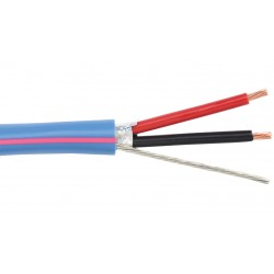 Liberty AV - LUTRON-PNK - Blue OEM systems lighting control for Lutron Dimmer & Switch 18 AWG 2 conductor 300V cable Reel