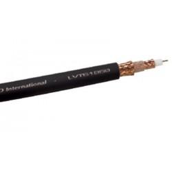 Gepco - LVT61859-0 - Black Gepco Brand RG59 Flexible Triaxial cable Reel