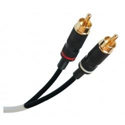 Liberty AV - P222P-2RCAM-M-10 - 10' Liberty Manufactured Duplex RCA plenum audio cable