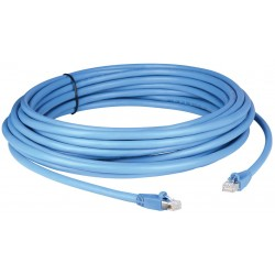 Liberty AV - PPC6ABS100BL - 100' LAN and HDBaseT Solutions Shielded Category 6A pre-made plenum patch cable