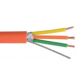 Liberty AV - TEKTONE-D2 - Orange Nurse Call data 18 AWG 3 conductor shielded cable Reel