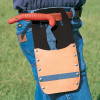 """Bahco / Snap-on - SW4002 - Leather Holster for Bahco 8"""" Log Tongs"""