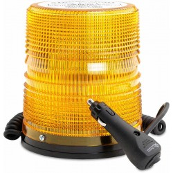 Other - 2281 - North American Signal Company 625 Series Amber Strobe Light with Magnetic Mount