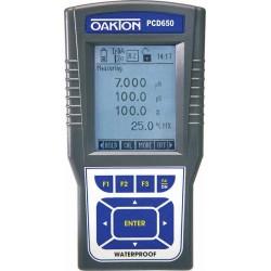 Oakton Instruments - 76243 - PCD650 pH/Conductivity/Dissolved Oxygen Meter Kit