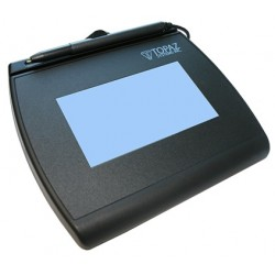 Topaz Systems - T-LBK755SE-BBSB-R - Signature Pad, SigGem Backlit LCD 4x3 Dual Serial & Virtual Serial via USB