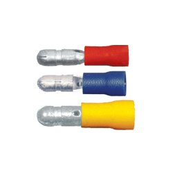 QuickCable - 160272-100 - PVC Solderless Male Bullet