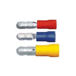 QuickCable - 160272-100 - PVC Solderless Male Bullet