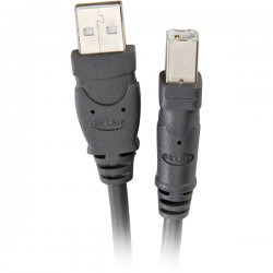 Belkin / Linksys - F3U133-16 - Belkin Pro Series USB 2.0 A/B Device Cable - USB - 16.08 ft - 1 x Type A Male USB - 1 x Type B Male USB